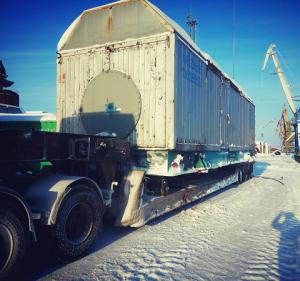 Перевозка промышленного оборудования по России