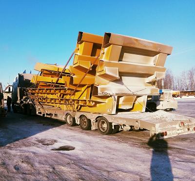 Перевозка сборных негабаритных грузов