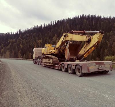 Перевозка тракторов бульдозеров экскаваторов дробилок