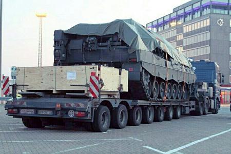 Перевозка бронетранспортера