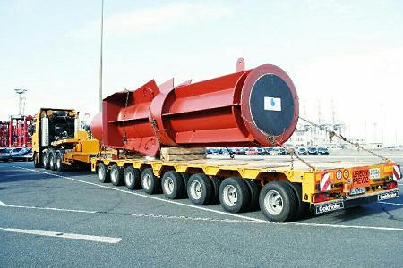 Перевозка металлоконструкций в СПб