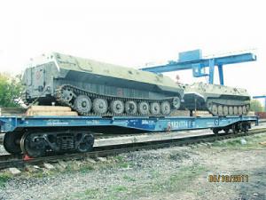 Перевозка гусеничного вездехода по России