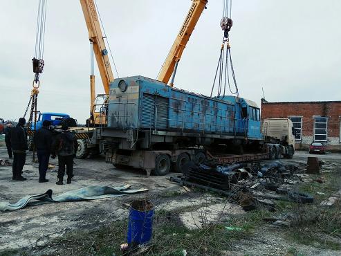 Перевозка вагона на низкорамном трале по России